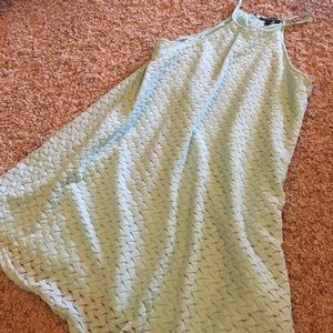 Very J Aqua Swing Dress, Size Small
